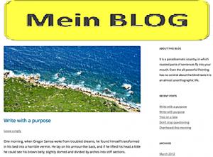 Mein Blog hat einen Migrationshintergrund?