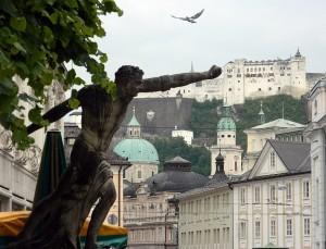 Salzburg im Mai 2013 - St. B.