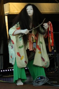 Butoh-Tänzer des Shibusa Shirazu Orchestras