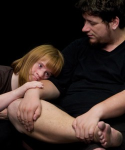 Julia Häusermann und Remo Beuggert vom Theater Hora - Foto: Michael Bause