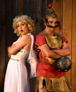 Alkie und Amphie (Juliane Gregori und Eddi Burza) - Foto: St. B.