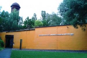 Shakespeare in Grün. Eingang zum Naturpark Südgelände. Foto: St. B.