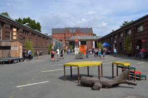 Das Gelände der Uferstudios in Berlin-Wedding - Foto: St. B.