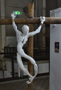 Sven Bergholz' Kunstharz-Jesus