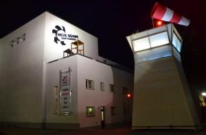 Neue Bühne Senftenberg nachts_Foto Stefan Bock