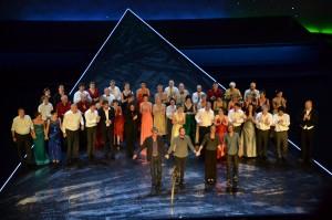 Premiere King Arthur - Großer Applaus für das Ensemble - Foto: St. B.