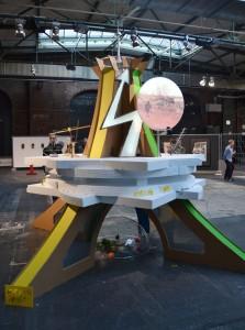 Skulptur für Christoph Schlingensiefs Operndorf
