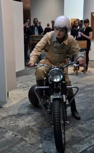 Motorrad-Performance auf der abc