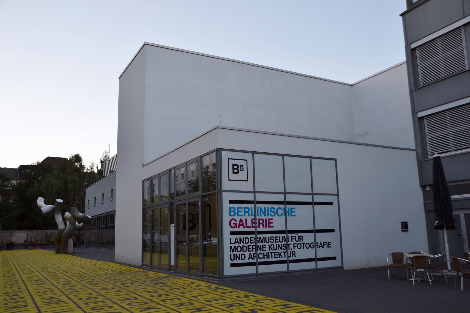 Die Berlinische Galerie in der alten Jakobstraße 124 -128