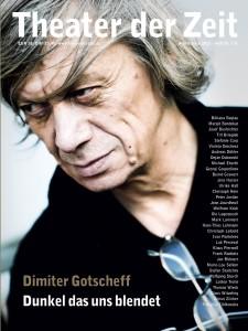 """Cover des im Juni 2013 erschienenen """"Arbeitsbuch 22"""" von Theater der Zeit über Dimiter Gotscheff - (C) TdZ"""