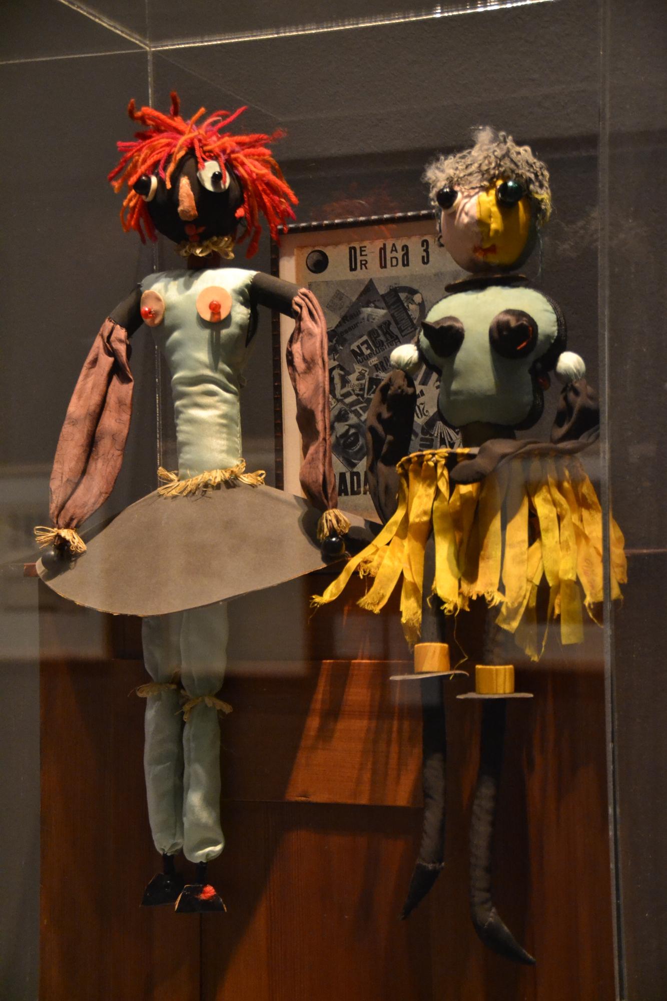 Hanna Hoech_Dada-Puppen, 1916-17_Berlinische Galrie