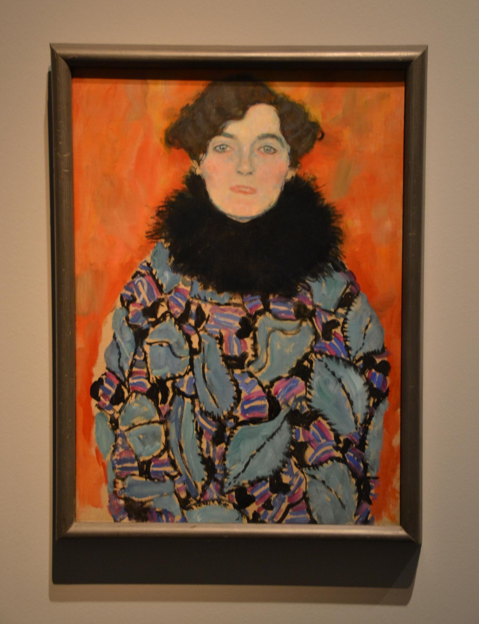 Gustav Klimt: Johanna Staude (unvollendet), 1917/18