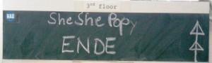 Ende von She She Pop im HAU 3 Foto: St. B.
