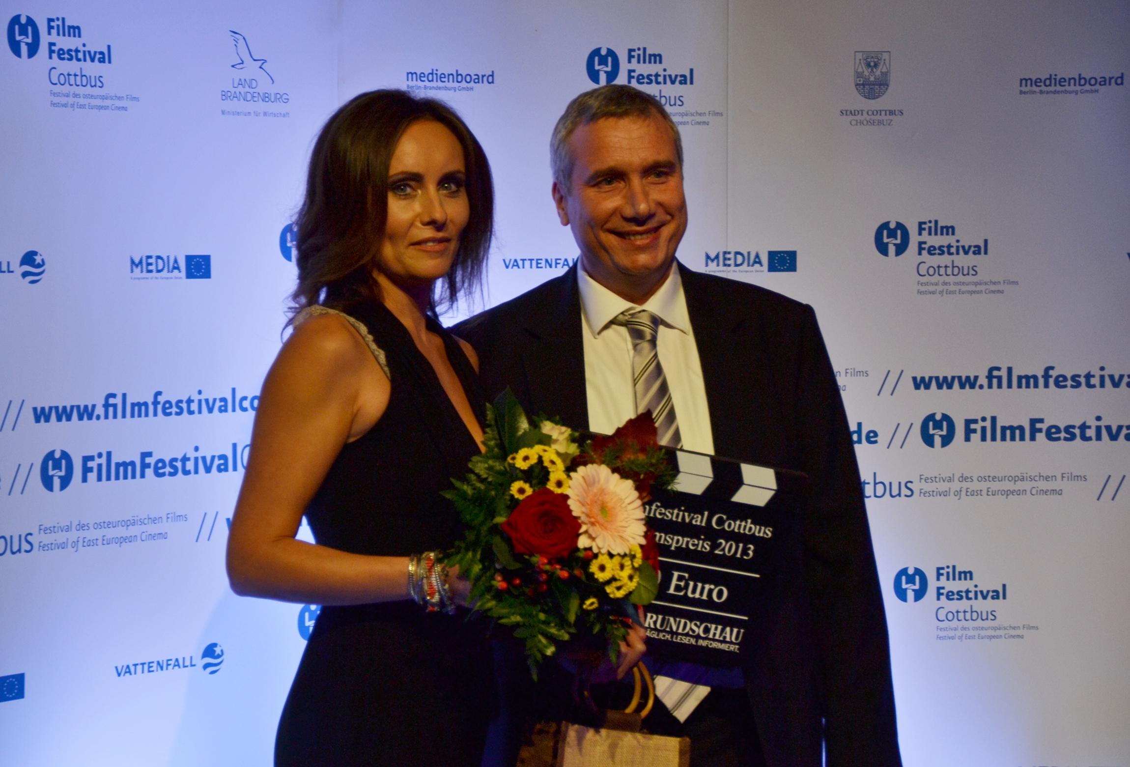 Elisabeth Duda, Hauptdarstellerin von Lauf, Junge lauf und Jurymitglied bei der Preisverleihung - Foto: St. B.