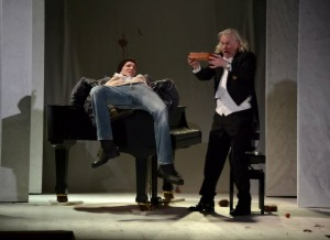 Sabin Tambrea und Roman Kaminski in Herzstück  - Foto: St. B.