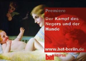 Der Kampf des Negers und der Hunde von Bernard-Marie Koltès - (c) bat-Studiotheater