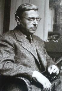 Jean-Paul Sartre (um 1950) - Foto: Wikipedia