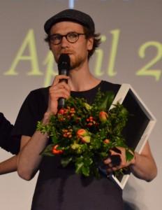 Kurzfilmpreisträger Robert Gwisdek - Foto (c) St. B.