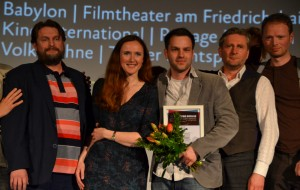 new berlin film award für die Beste Regie für Nico Sommer - Foto (C) St. B.