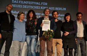 new berlin film award für die Beste Produktion. Die Geschichte vom Astronauten, Regie: Godehard Gise - Foto (C) St. B.