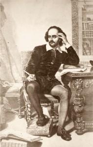 William Shakespeare (1564-1616) englischer Dichter.Bedeutendster Dramatiker der Weltliteratur