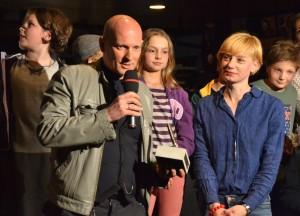 Kasper Hauser_Alvis Hermanis bei der Preisverleihung
