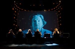Die letzten Zeugen. Lucia Heilman © Reinhard Werner / Burgtheater