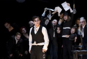 Kafkas Prozeß - Veit Schubert und Ensemble © Fotos: Lucie Jansch
