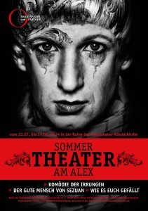 Shakespeare und Partner-Sommertheater am Alex