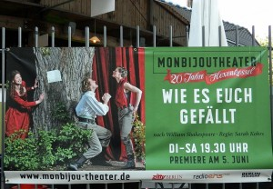 Wie es euch gefällt im Monbijoutheater Foto: St. B.