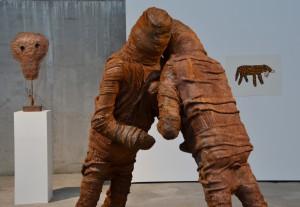 Skulpturen von Des Hughes - Foto: St. B.
