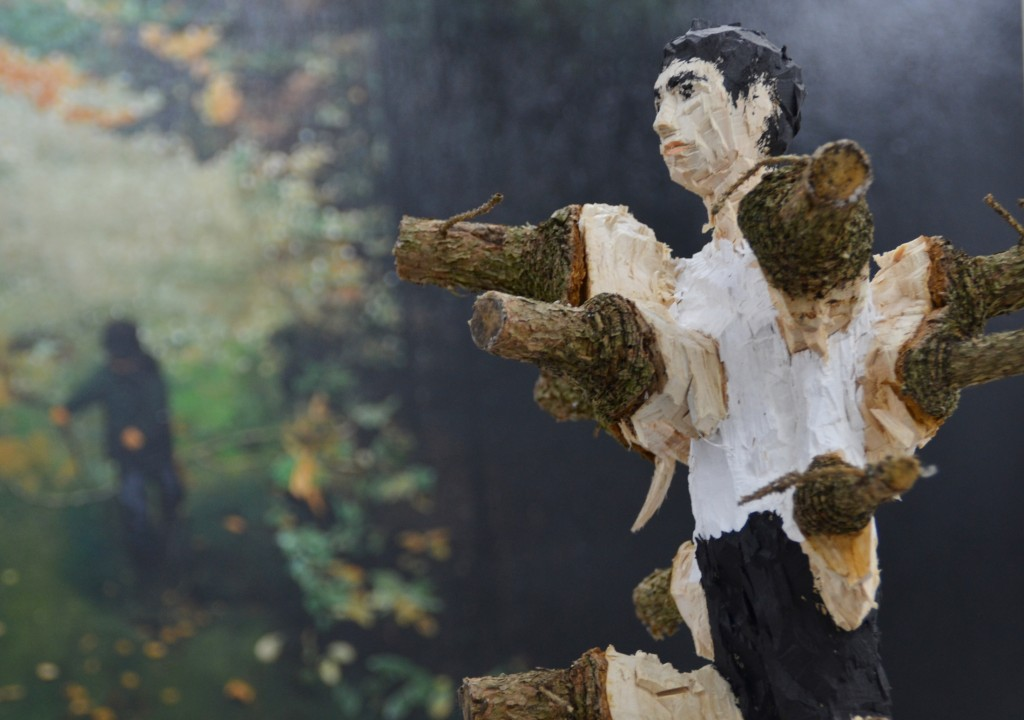 Holzskulptur von Edvardas Raceicius - Foto: St. B.