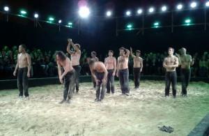Premierenbeifall für FALLEN vor dem Maxim Gorki Theater - Foto: St. B.