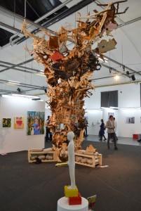 Installation von GODsDogs - Foto: St. B.