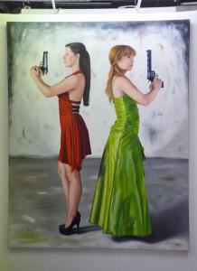 Gemälde von Kerstin Arnold - Foto: St. B.