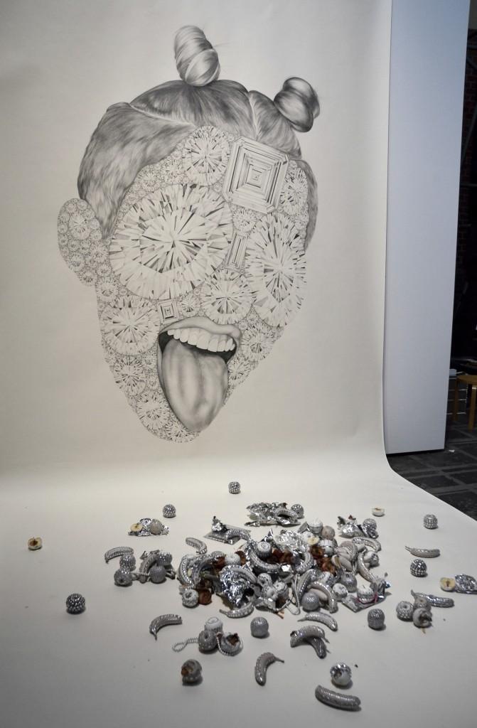 Vanitas-Installation von Luciana Rondolini - Foto: St. B.