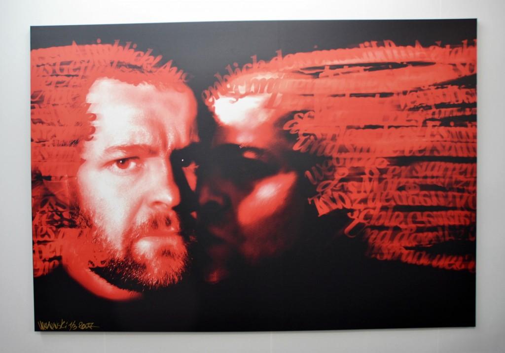 Judaskuss. Fotocollage von Wadim Rakowski - Foto: St. B.