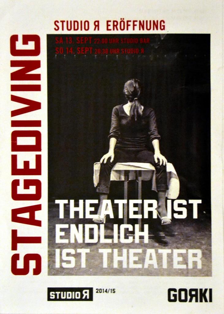 Programmheft der Veranstaltung (c) Maxim Gorki Theater