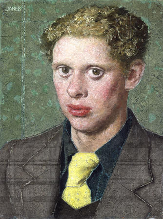 Dylan Thomas by Alfred Janes - Foto: Nat. Museum Wales (c) Hilly Janes