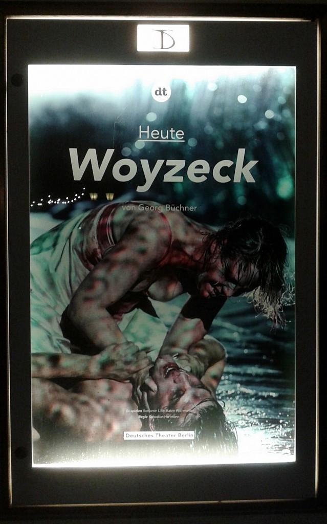Woyzeck - Foto DT-Schaukasten St. B