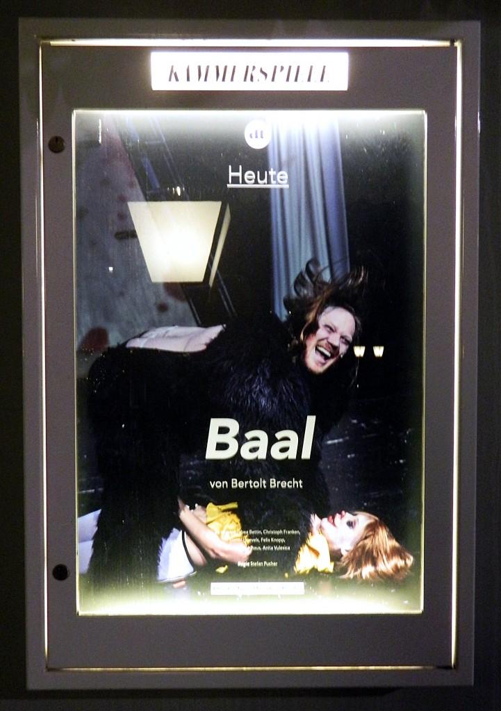 Baal - Foto DT-Schaukasten