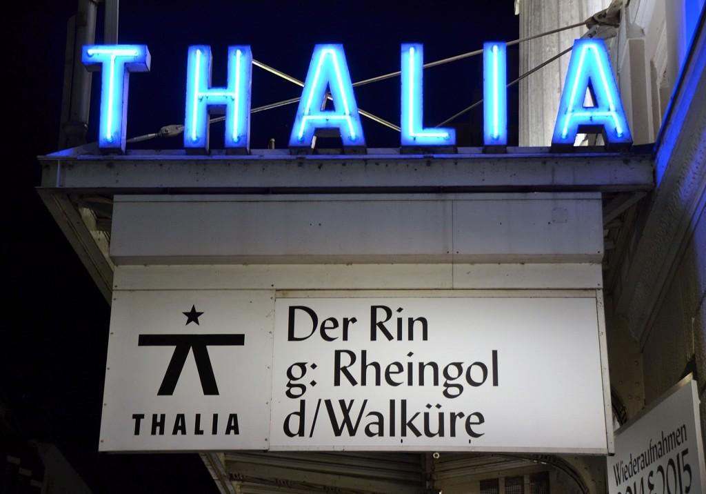 Wagners Ring am Thalia Theater Hamburg - Foto: St. B.