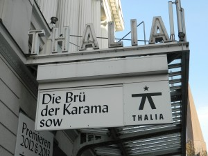 Die Brüder Karamasow im Mai 2013 am Thalia Theater Hamburg - Foto: St. B.