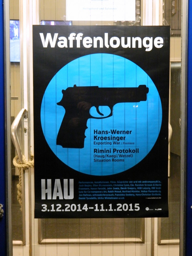 Situation Rooms_HAU 2_Plakat Waffenlounge