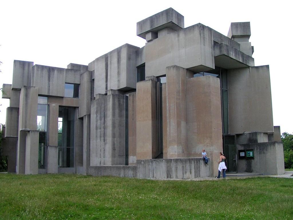 Wotrubakirche in Wien - Foto von ninanuri für Wikipedia