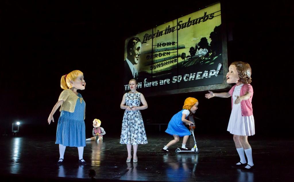 Zeiten des Aufruhrs am Schauspiel Leipzig - Foto (C) Rolf Arnold