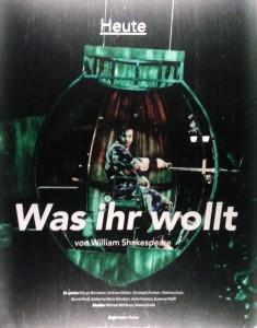Was ihr wollt - Foto: DT-Schaukasten