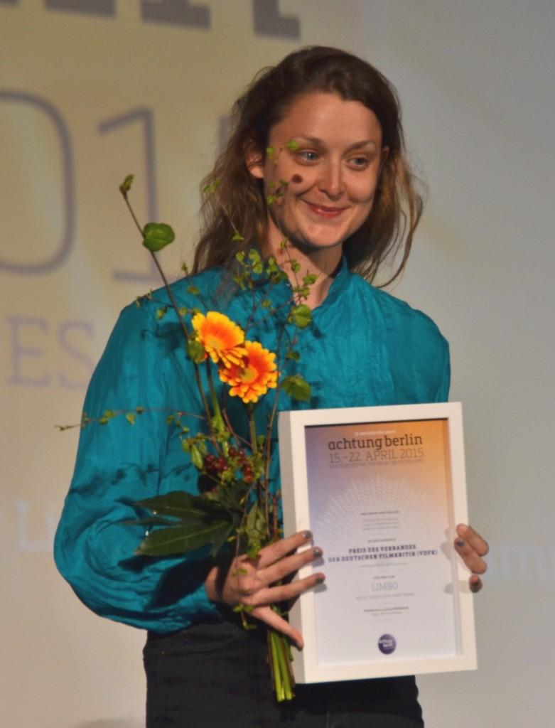Anna Sofie Hartmann, Regisseurin von Limbo Foto: St. B.