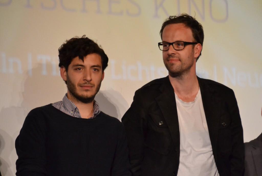 Mehmet Atesci und Regisseur Andreas Pieper von Nachspielzeit_Beste Produktion_St. Bock