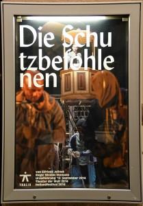 Schaukasten des Thalia Theaters Hamburg
